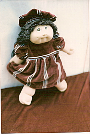 Cabbage Patch Doll Dress and Hat (Image1)