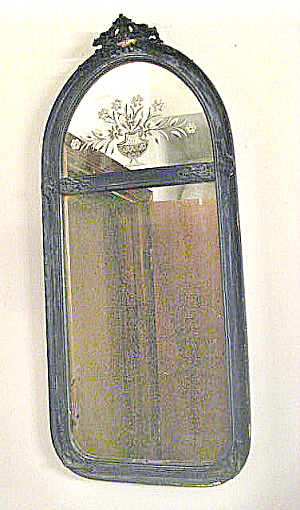 Vintage 1925 Queen Anne Mirror (Image1)