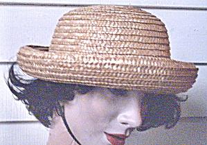 Straw Hat Vintage  Medium Brim  (Image1)