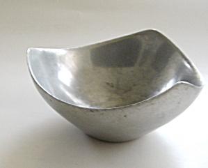 Mid Century Aluminum Sculptural Bowl (Image1)
