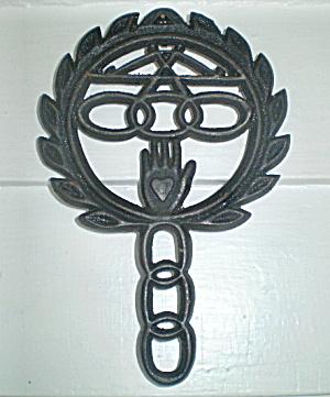 Vintage Wilton Cast Iron Trivet (Image1)