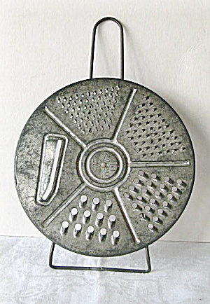 1940 Vintage 5 in 1 Safety  Grater  (Image1)