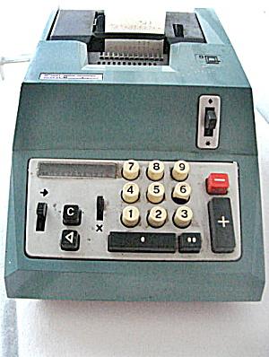 Adding Machine Vintage Olivetti-Underwood Summa QUANTA 20,  (Image1)