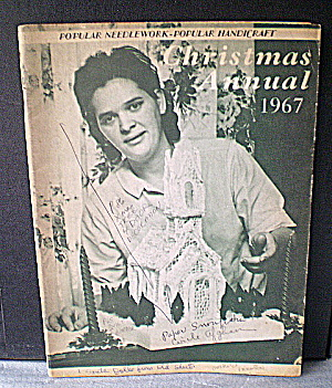 Vintage Xmas Popular Handicraft/Popular Needlework Mag  (Image1)