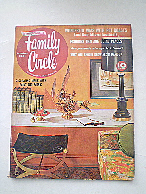 Family Circle Magazine Vintage 1961  (Image1)