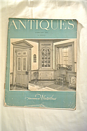 Vintage Antiques Magazine Feb-1955 (Image1)