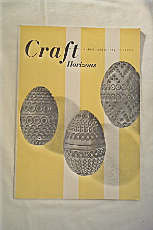 Craft Horizons Magazine Vintage 1955 (Image1)