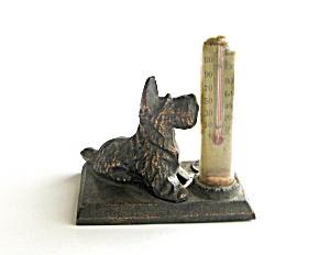Copper Scottie Dog with Thermometer Souvenir (Image1)