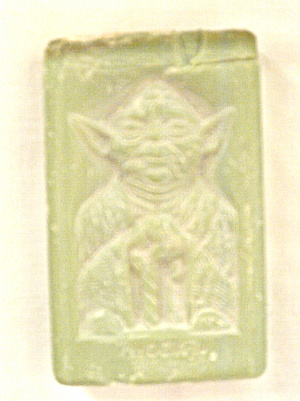 Star Wars Yoda-no Odor Soap Vintage