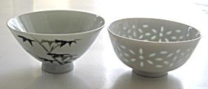 Asian Porcelain Rice Bowls (Image1)