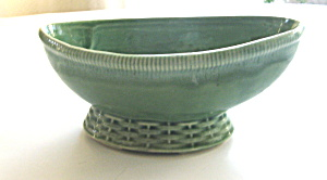 Pottery Planter 1940s Boat Shaped (Image1)