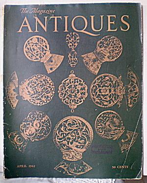 Vintage 1942 ANTIQUES Magazine (Image1)