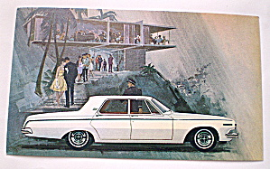 1963 Dodge 330-4-Door Sedan Postcard (Image1)