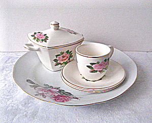 Vintage Paden City Pottery American Rose Collection