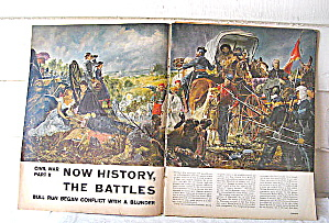 1951 &1960  Civil War Articles fr. LIFE & BH&G Mag (Image1)