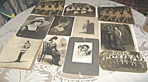 Vintage Vaudeville Dancing Burton Sisters Photographs (Image1)