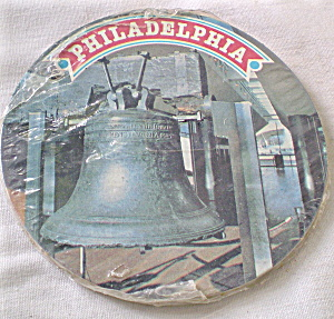 1976 Bi-Centennial Coasters Premium by Folger's Coffee  (Image1)