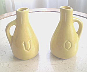 Antique Padre Pottery Oil and Vinegar Set (Image1)
