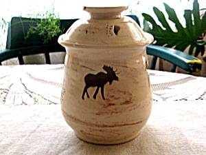 Alaskan Denali Magic Pottery Jar (Image1)