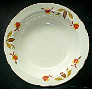 Jewel Tea Co. 1930 Autumn Leaf Dessert Dish Vintage 1950s (Image1)