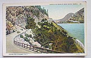 Vintage Postcard Storm King Highway Going North-NY (Image1)
