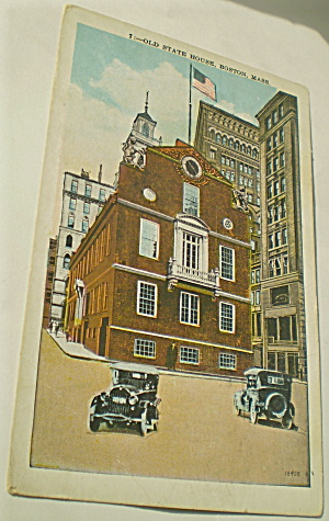 Boston Mass Old State House 1930 (Image1)