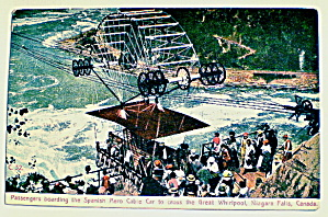 Niagra Falls Spanish Aero Cable Car 1920s (Image1)