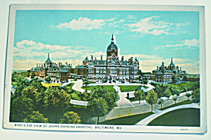 Vintage 1920 Postcard Johns Hopkins Hospital-Baltimore (Image1)