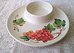 Antique Teleflora Chip and Dip Plate Premium (Image1)