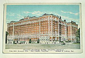 Biltmore Hotel, Atlanta,GA 1920s (Image1)