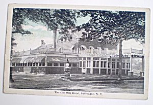 Vintage The Old Oak Hotel Patchogue N Y Postcard 1920s (Image1)