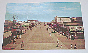 Vintage PhotoPostcard-Boardwalk-Wildwood-By-The-Sea, NJ (Image1)