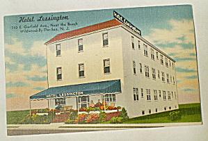 Hotel Lessington Wildwood,NJ 1920s (Image1)