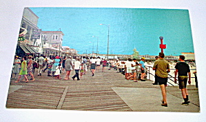 Vintage Photocard-North of Montgomery Ave. Wildwood,NJ (Image1)