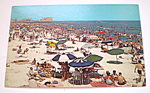 VintagePhotocard Beach North of Marine Pier,Wildwood,NJ (Image1)