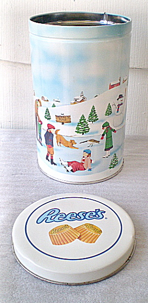 Hershey's Vintage Tin  Hometown Series, Canister  #7 1990 (Image1)