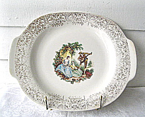 Limoges American China D'or Platter GuitarPlay (Image1)