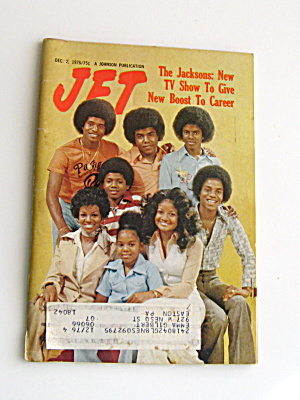 Michael Jackson 1976 The Jacksons New Tv Show Article