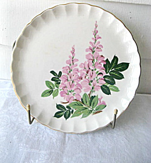 W.S. George1947  Bolero Larkspur DInner Plate (Image1)