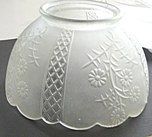 Victorian Glass Lamp Shade