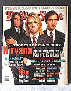 Nirvana Rolling Stone Magazine January 1994 (Image1)
