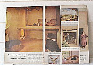 Georgia O'Keeffe Article House Beautiful 1963  (Image1)