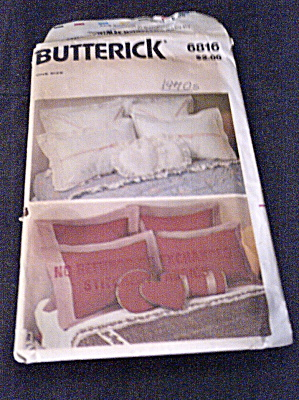 Vintage 1970s Assorted Pillow Patterns (Image1)