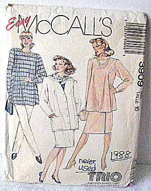1988 Vintage Maternity(Jacket/top/skirt /pants)pattern