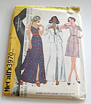 McCall's Ensemble- Top,Jacket, Skirt and Shirt (Image1)