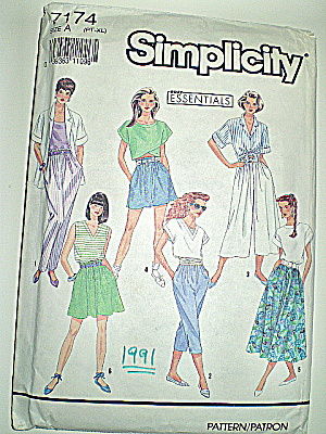 Vintage Simplicity Ladies Spring/Summer Casual Outfits  (Image1)