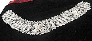 Lace Collar Vintage 1920s-1930s  Irish Crochet  (Image1)