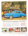 Click to view larger image of  Auto Ads 2 Rare 1950 Hudson,1950 Studebaker  (Image2)