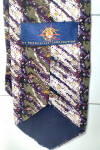 Click to view larger image of  Mens Tie Designer  Brookville Magic Eye 100% Silk  (Image2)