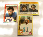 Click here to enlarge image and see more about item FTC-324: Football HarryCarson NorrisThomas WalterPayton MarkVanEeghen